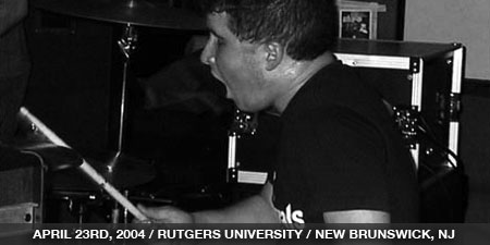 The Stand In - April 23rd, 2004 - Rutgers University - New Brunswick, NJ