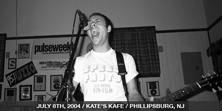 The Stand In - July 8th, 2004 - Kate's Kafe - Phillipsburg, NJ