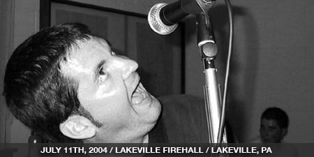 The Stand In - July 11th, 2004 - Lakeville Firehall - Lakeville, PA