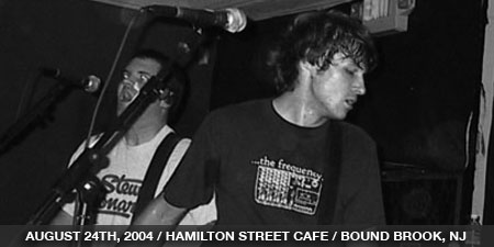 The Stand In - August 24th, 2004 - Hamilton Street Cafe - Bound Brook, NJ