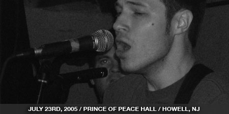 The Stand In - July 23rd, 2005 - Prince Of Peace Hall - Howell, NJ