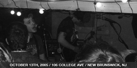 The Stand In - October 13th, 2005 - 106 College Ave - New Brunswick, NJ