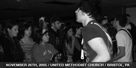 The Stand In - November 26th, 2005 - United Methodist Church - Bristol, PA